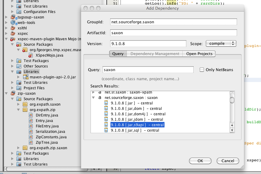 Gradle Support - NetBeans Plugin detail